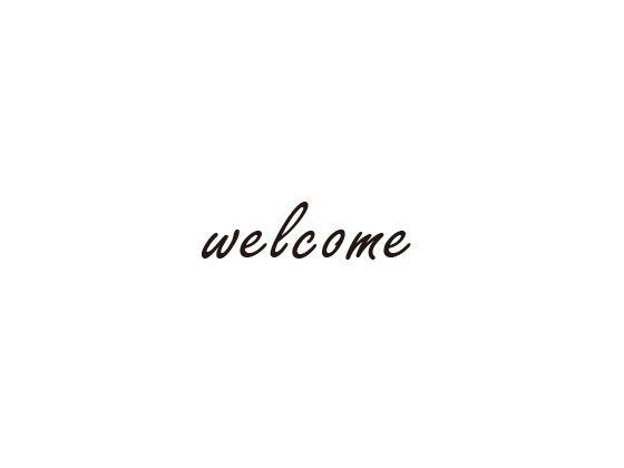 ウェディングスタンプ メッセージ(welcome) WD-84